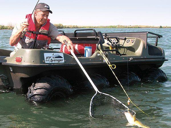 охота и рыбалка снегоболотоход